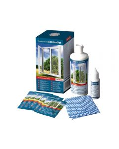 Pflege- und Reinigungsset für Fenster und Türen